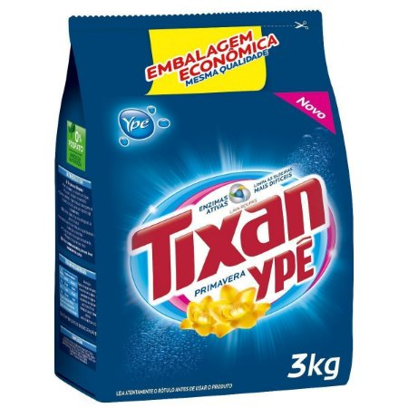 Tixan Ypê Primavera Detergente em Pó Lava-Roupas 3kg