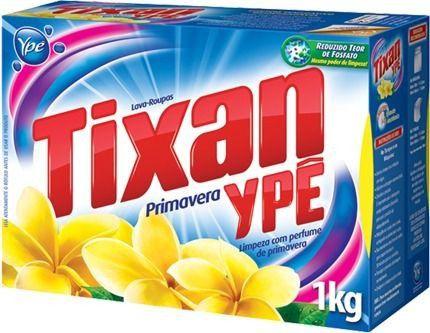 Sabão em po 1kg primavera -tixan