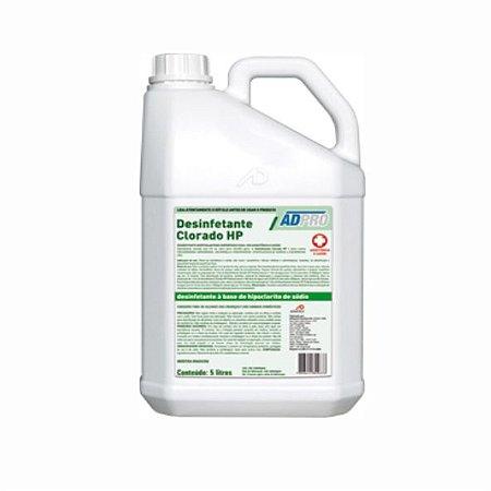 Desinfetante clorado hp concentrado 1:100