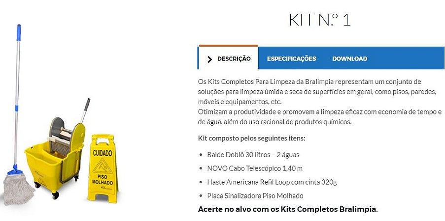 Kit 1 – mop líquido