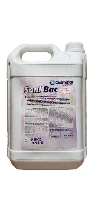 Desinfetante Sanibac 05 Lt floral - Quimistar