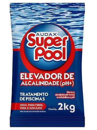 ELEVADOR DE ALCALINIDADE PARA PISCINAS 2KG AUDAX SUPER POOL