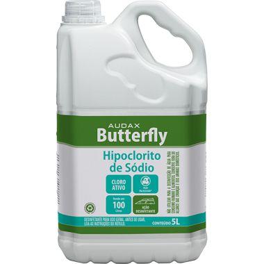 HIPOCLORITO DE SÓDIO BUTTERFLY 5L - AUDAX