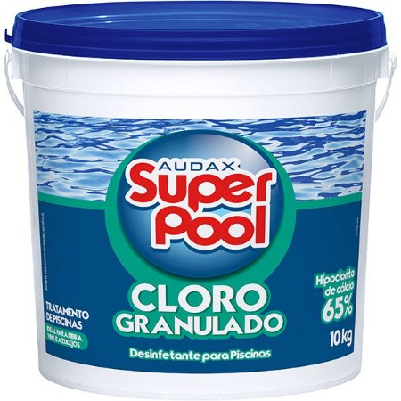 Cloro Granulado 10kg - hipoclorito de calcio,Superpool