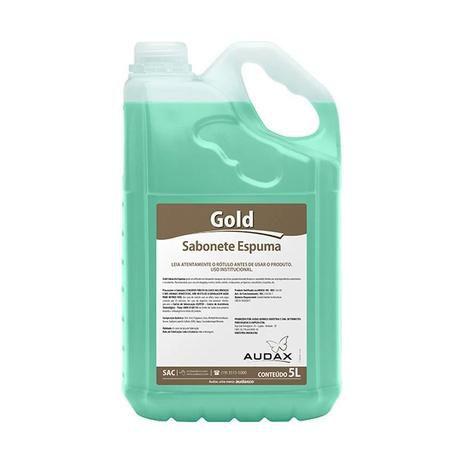 Sabonete liq 05lt espuma erva doce gold - Audax