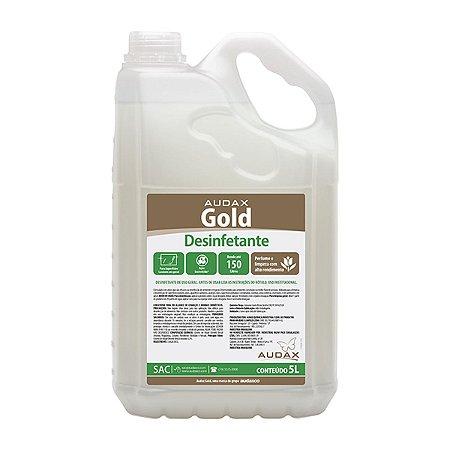 Desinfetante gold 05 Lt conc 1/30 eucalipto - Audax