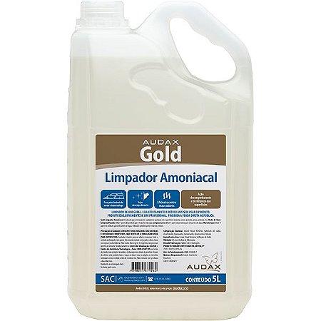 Limpador amoniacal 05 Lt Audax gold