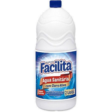 Agua Sanitária 02 Lt - Facilita