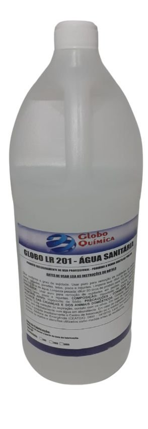 Agua Sanitária 02 Lt conc 1/50 - Globo Química