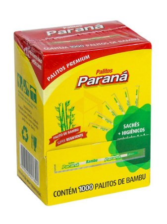PALITO DENTAL SACHE MENTOLADO CX 1X1000