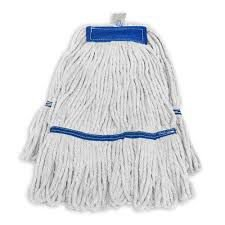 Refil mop agua  c/loop branco Plus azul Moppita SB71073