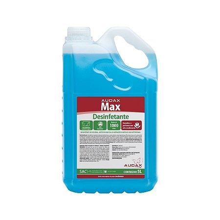 Desinfetante max 05lt conc 1/100 talco - Audax