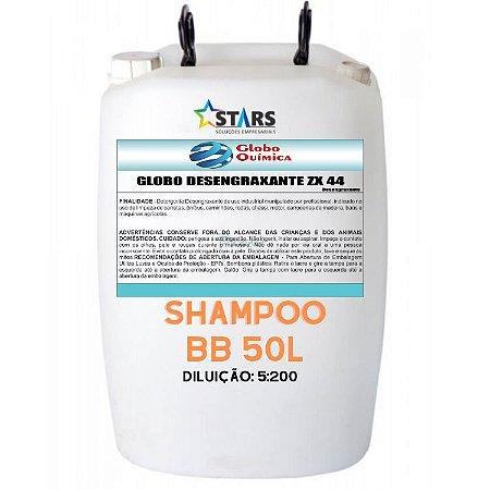 Shampoo lava car 50 Lt dil 5:200  bb - Globo Química