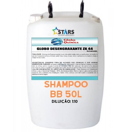 Shampoo Lava car 50 Lt 1:10 bb - Globo Quimica