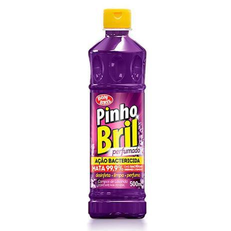 Desinfetante Pinho Bril 500ml Campos Lavanda - Bom Bril