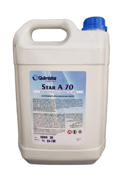 Álcool líquido 70° 05 lt p/ limpeza superfície a70