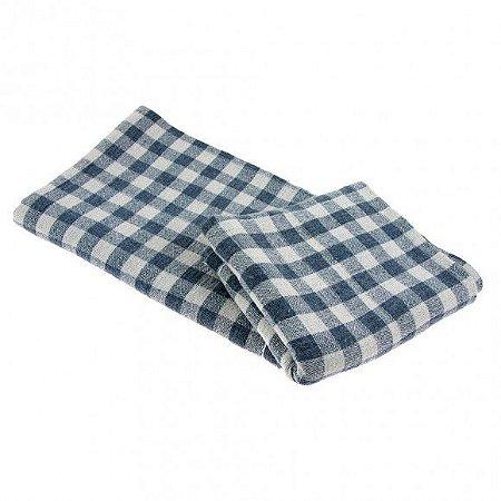Saco xadrez 68x48cm especial 100% algodão - eco têxtil