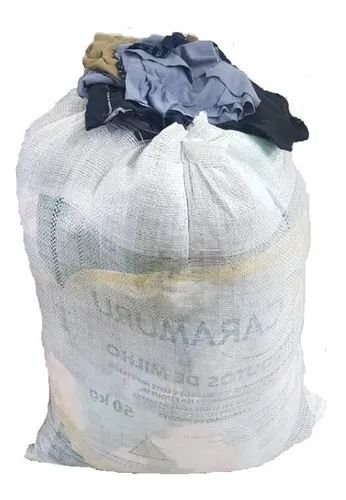 Pano costurado redondo saco 20kg