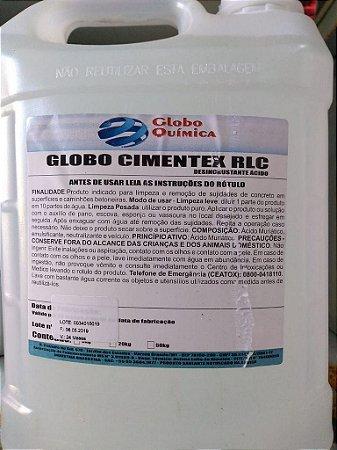ACIDO MURIATICO 50LT CIMENTEX RCL - GLOBO