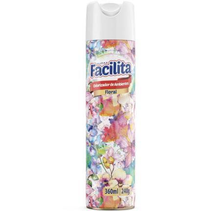 Odorizador bom ar Facilita floral aerosol 360ml Audax