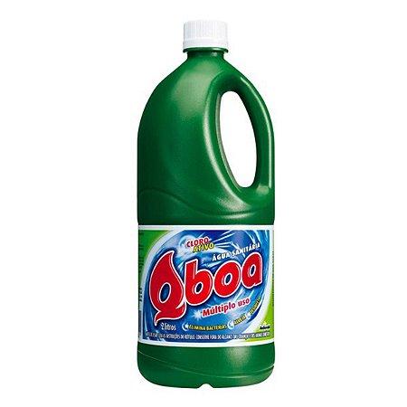 Agua Sanitária 02 Lt - Qboa