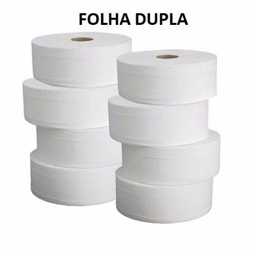 Papel hig Rolão cx f.dupla celulose 10x250x8r - nc papeis