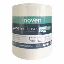 Rolo pano multiuso cor Branco 28cmx40cm (600 panos) - Inoven