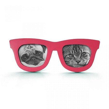 Porta Retrato Oculos Duplo