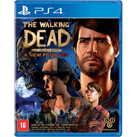 Game The Walking Dead: A New Frontier - PS4