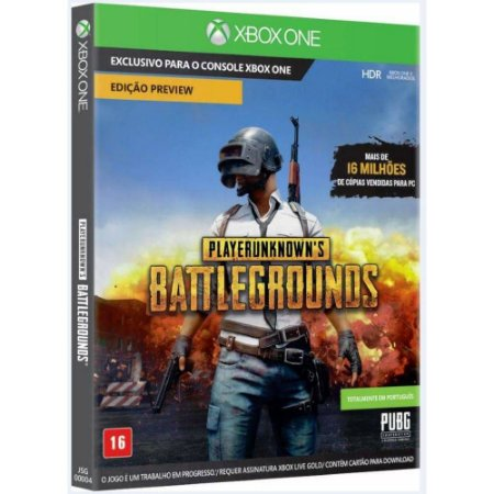 Game PlayerUnknown´s Battlegrounds - Xbox One