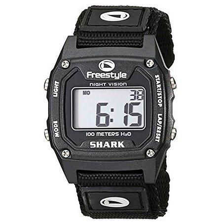 cbaffdb338f Relógio Freestyle Shark Classic Nylon Preto - Offshore Surfstore ...