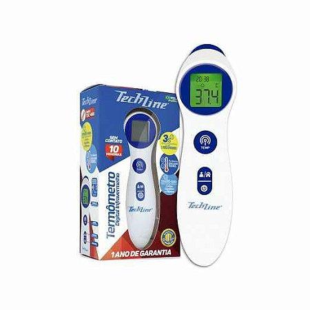 Termômetro Digital Infravermelho Sem Contato TSC-400 - TECHLINE