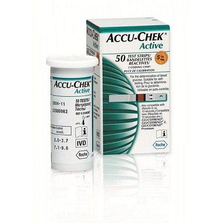 Accu-Chek Active c/ 50 Tiras Reagentes