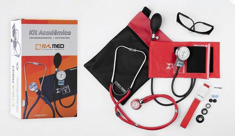 Kit Acadêmico Bordô PA Med