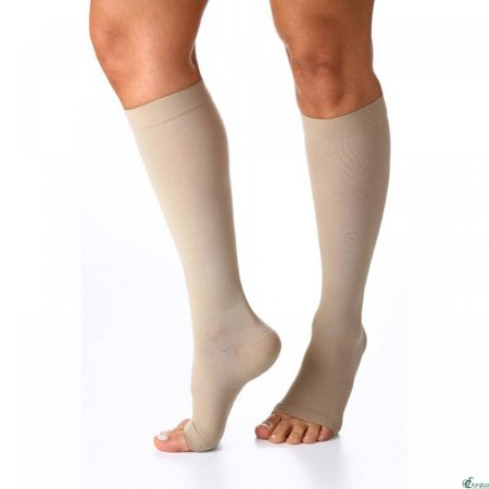 Meia Sigvaris 20-30 Select Comfort Bege 3/4