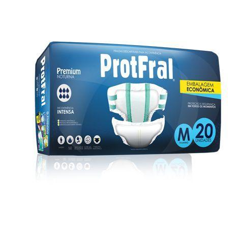 Fralda Geriatrica Protfral Premium C/20