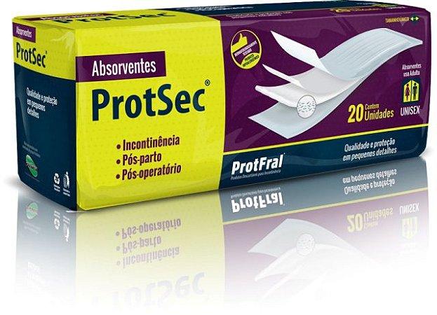 Absorvente Geriátrico Protsec – 20 unidades