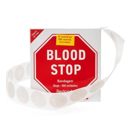 BLOOD STOP ROLO C/ 500