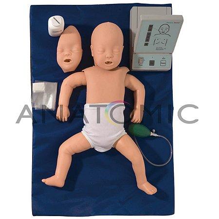 Manequim Bebê, Simulador para RCP com Painel Led TGD-4005-B