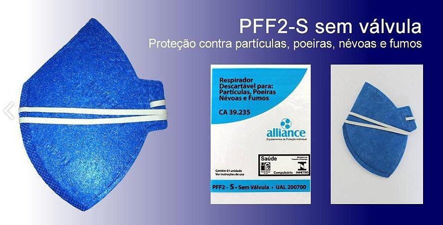 Mascara Pff2/N95 Sem Válvula INMETRO e CA 39235 ALLIANCE
