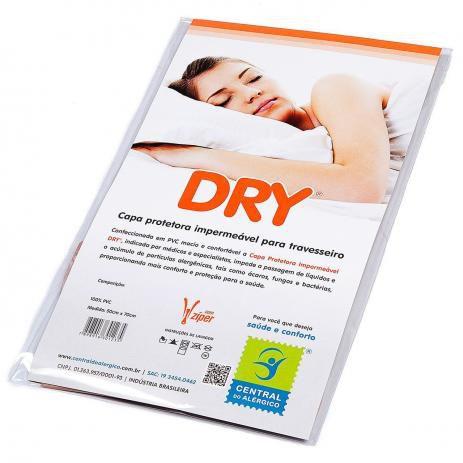 Capa Impermeavel Para Travesseiro em Pvc 50x70cm - DRY