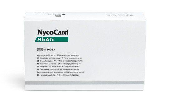 Teste para Hemoglobina Glicada - NycoCard HBA1C 24 uni