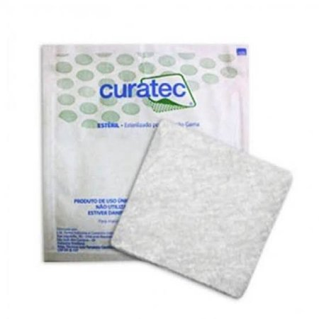 Curativo De Alginato de Cálcio e Sódio Placa - CURATEC