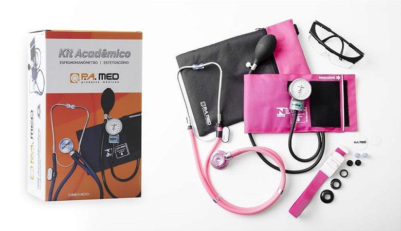 Kit Acadêmico Rosa PA Med