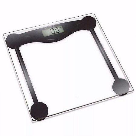 Balança de uso pessoal Digital de Vidro 180 kg - Supermedy
