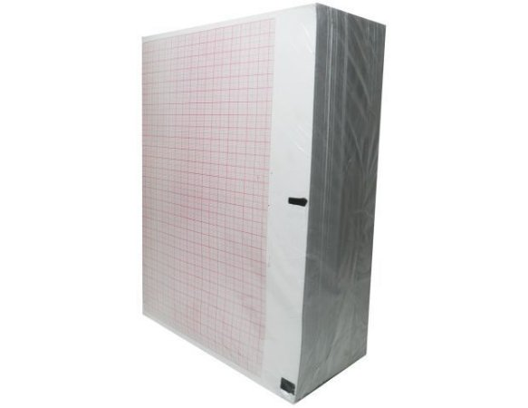 PAPEL ECG 216x280 DIXTAL EP3 C/1000 FOLHAS