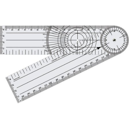 Goniômetro Grande Para Joelho 20 cm