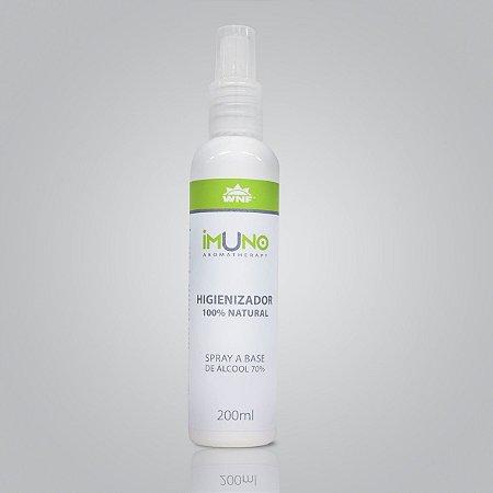 Álcool Aromatizado 70% Desinfetante Para Mãos 200ml - IMUNO