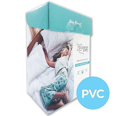Capa de colchão casal Padrão PVC - Alergoshop