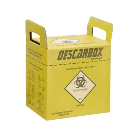 Coletor De Perfurcortantes Ecologic 3 Litros Unidade - DESCARBOX